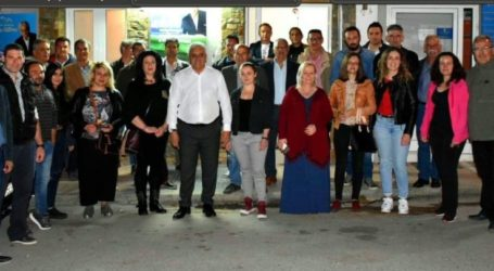 Με τους υποψηφίους του Συνδυασμού «Συνεργασία Για Πορεία Ανάπτυξης» συναντήθηκε ο Κολλάτος