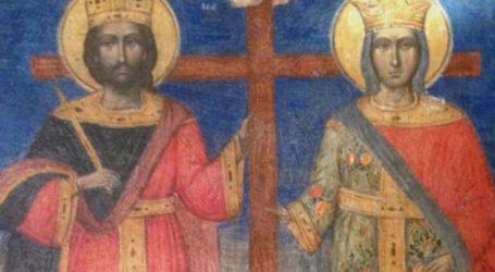 Πανηγυρίζει ο Ιερός Ναός Αγίων Κωνσταντίνου και Ελένης στα Άνω Βούναινα