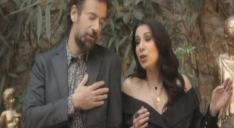 Κωστής Μαραβέγιας: Tραγουδά με τη Βολιώτισσα νικήτρια του φετινού The Voice! [βίντεο]