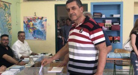 Ψήφισε ο Δ. Κουρέτας: Ελπίζω να μπορέσαμε να πείσουμε όσο το δυνατόν περισσότερους πολίτες