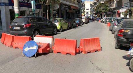 Κυκλοφοριακές ρυθμίσεις λόγω έργων σε τμήμα της οδού Μανδηλαρά