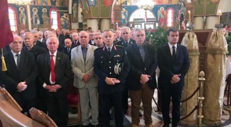 Χαρακόπουλος στην γιορτή της Αγίας Ειρήνης: Σεβασμό και ευγνωμοσύνη στους απόστρατους της αστυνομίας!