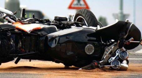 Λάρισα: Αυτοκίνητο συγκρούστηκε με μηχανή – Ένας άντρας μεταφέρεται στο ΓΝΛ