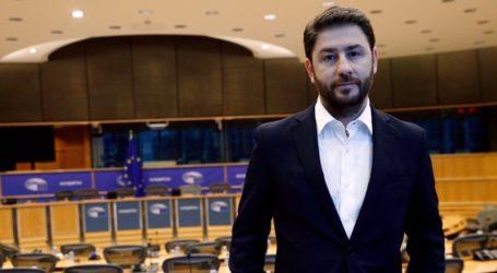 Ομιλία του Νίκου Ανδρουλάκη στον Βόλο