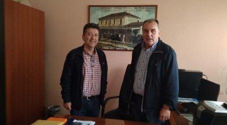 Με στελέχη του ΟΣΕ συναντήθηκε ο υποψήφιος Ευρωβουλευτής Ν. Πουτσιάκας – Συζήτησαν για την αξιοποίηση του σιδηρόδρομου
