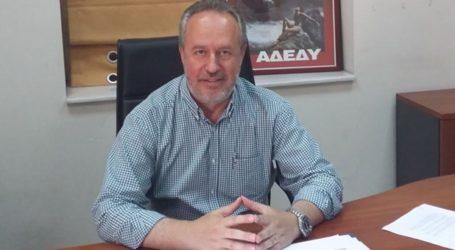 Ο υπ. ευρωβουλευτής της ΝΔ Γιάννης Πάιδας στον Βόλο