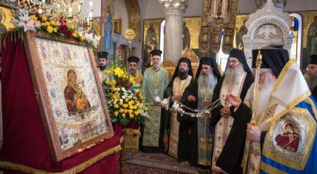Η Ιερά Εικόνα της Παναγίας «Φοβεράς Προστασίας» στον Άγιο Κωνσταντίνο Βόλου μέχρι την Κυριακή