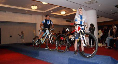 Η ποδηλασία της Νίκης Βόλου σε εκδήλωση για την εκπαίδευση και μαθητεία