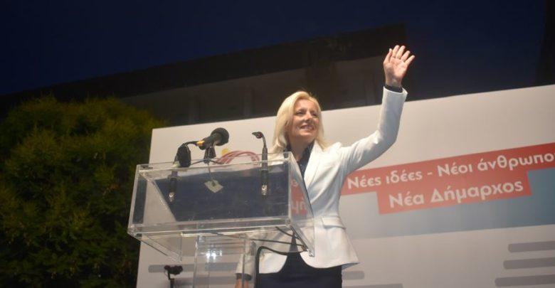 Ρένα Καραλαριώτου: «Την Κυριακή φέρνουμε τη Δημοτική Αλλαγή» (φωτο)