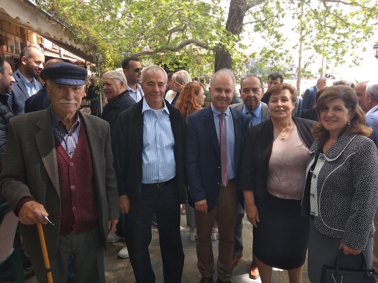 Μανώλης: Να γίνει η Ραψάνη σημείο προορισμούΕλλήνων και ξένων επισκεπτών