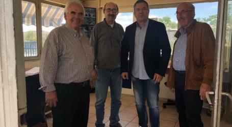 Επισκέψεις του Αντιπεριφερειάρχη Κ. Χαλέβα σε βιομηχανικές μονάδες της Μαγνησίας