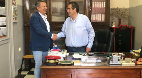 Επίσκεψη του Αντιπεριφερειάρχη Θεσσαλίας Κ. Χαλέβα σε δημόσιες υπηρεσίες του Βόλου