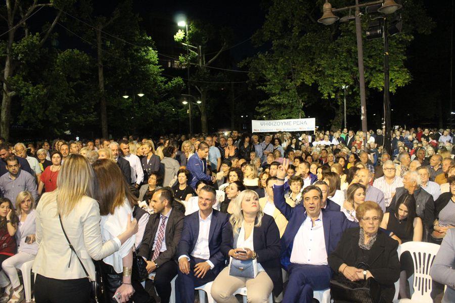 """Καραλαριώτου: """"H Λάρισα στέλνει ξεκάθαρο μήνυμα πολιτικής και δημοτικής αλλαγής"""""""