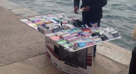 Βόλος: Μικροπωλητής εγκατέλειψε τα πράγματά του για να μη συλληφθεί