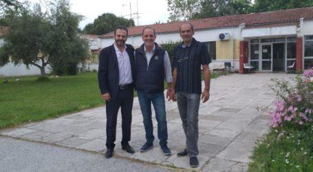 Επίσκεψη Ευθ. Ζιγγιρίδη στο Κέντρο Υγείας Αλμυρού