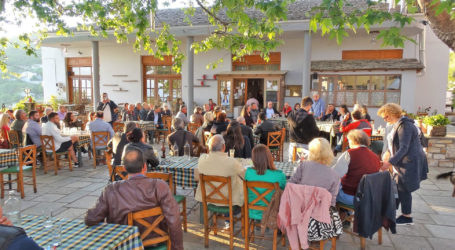 Μ. Μιτζικός: Περιοδεία και καταγραφή προβλημάτων στον Άγιο Γεώργιο Νηλείας