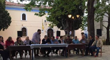 Μήνυμα νίκης από τον υποψήφιο Δήμαρχο ΝοτίουΠηλίου Μ. Μιτζικό σε συγκέντρωση στον Λαύκο