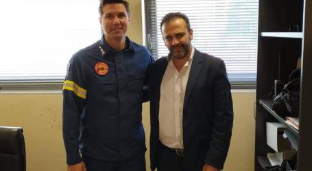 Ο Ευθύμιος Ζιγγιρίδης για τη μετακίνηση του Πυροσβεστικού κλιμακίου του Αλμυρού