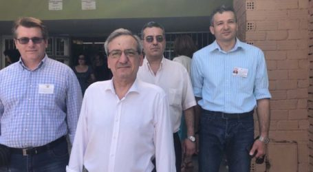 Ψήφισε ο Κ. Βαϊούλης: «Ευελπιστούμε ότι θα νικήσουμε στο τέλος και θα αποτελέσουμε την πλειοψηφία στην λαρισινή κοινωνία»
