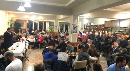 Σε πυκνό ακροατήριο στη Βαλανίδα μίλησε ο Ν. Ευαγγέλου – Αναφέρθηκε στα έργα που έγιναν και σε εκείνα που θα γίνουν