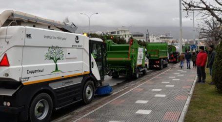 Προσλήψεις 58 ατόμων στην Διεύθυνση Καθαριότητας του Δήμου Βόλου