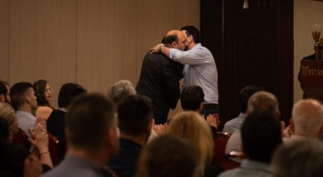Ο Πρόεδρος ΟΝΝΕΔ στηρίζει Τριαντόπουλο