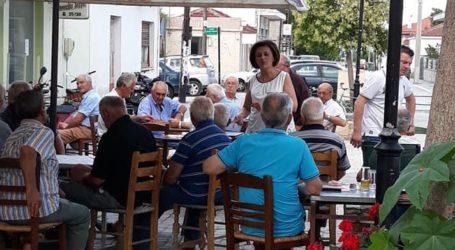 Την Ευξεινούπολη επισκέφθηκε κλιμάκιο του ΣΥΡΙΖΑ με επικεφαλής την Μ. Χρυσοβελώνη