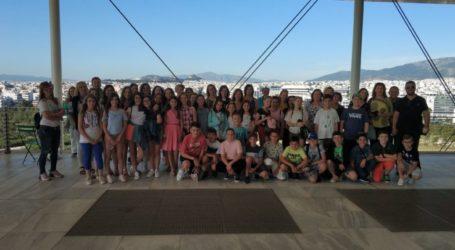 Σε διήμερη εκπαιδευτική εκδρομή στην Αθήνα μαθητές του Δημοτικού Σχολείου Συκουρίου
