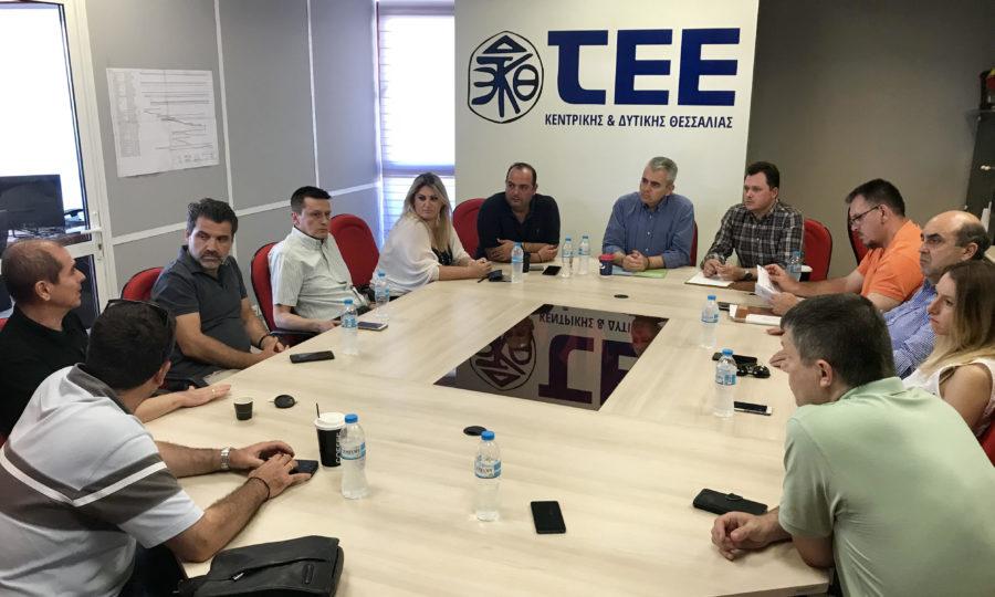 Μάξιμος στο ΤΕΕ Λάρισας: «Με ΝΔ επανεκκίνηση της οικονομίας»