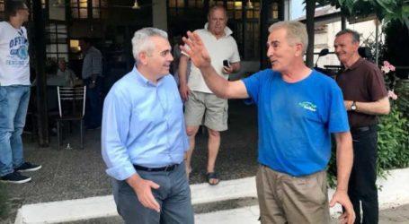 Χαρακόπουλος: Άμεσα εκτιμήσεις ζημιών από τη σφοδρή χαλαζόπτωση!
