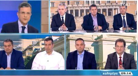 Χαρακόπουλος στον ΣΚΑΙ: Μπούμερανγκ το σκάνδαλο Νοβάρτις για τον ΣΥΡΙΖΑ