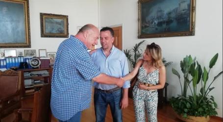Σε υποψηφίους βουλευτές του Κινήματος Αλλαγής συναντήθηκε ο Αχιλλέας Μπέος