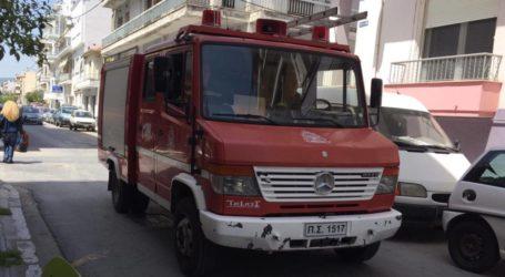 Στις φλόγες αυτοκίνητο στην οδό Δημητριάδος
