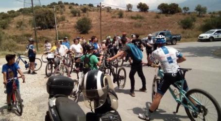 Με επιτυχία η ποδηλατοβόλτα από τη Νίκη Βόλου