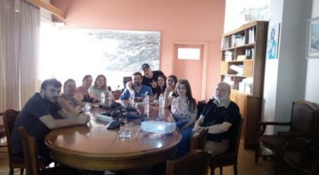 Σπουδαστές του ΟΑΕΔ επισκέφθηκαν τον Ο.Λ.Β.