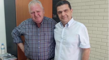 Στη ΔΕΥΑΜΒ ο υποψήφιος ΒουλευτήςτουΚΙΝΑΛ Νίκος Χαυτούρας