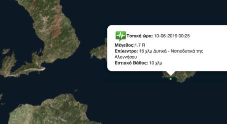 Ασθενής σεισμός στη Σκόπελο [χάρτης]