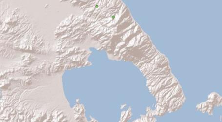 Δύο ασθενείς σεισμικές δονήσεις στον Βόλο [χάρτης]