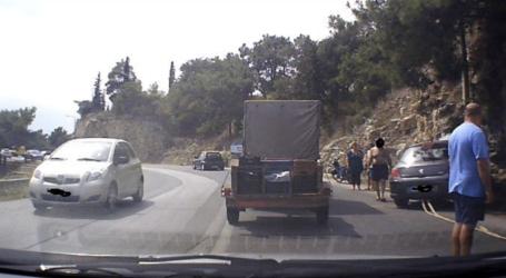Τροχαίο ατύχημα στις στροφές της Γορίτσας [εικόνα]
