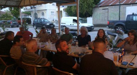 Στο Στεφανοβίκειο κλιμάκιο του ΣΥΡΙΖΑ με υποψήφιους βουλευτές