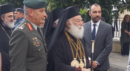 Ο Βουλευτής Μαγνησίας Παναγιώτης Ηλιόπουλος στην διήμερη υποδοχή του Πατριάρχη Αλεξανδρείας