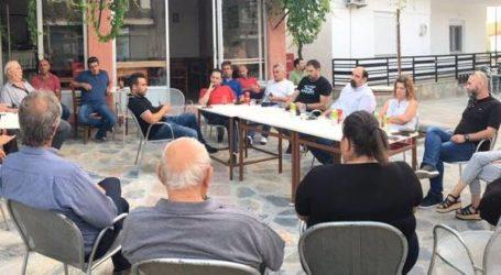 Χρ. Τριαντόπουλος: Περιοδεία σε Βρύναινα, Πλάτανο και Κωφούς