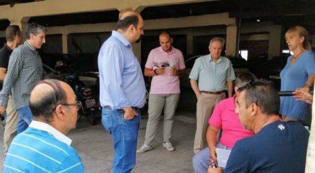 Χρ. Τριαντόπουλος: Επισκέψεις στις υπηρεσίες του Υπουργείου Οικονομικών στο Βόλο