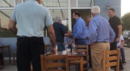 Χρ. Τριαντόπουλος: Επίσκεψη σε Ευξεινούπολη, Κρόκιο και Ανάβρα