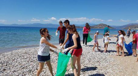 Μαθητές και Λιμεναρχείο Βόλου καθαρίζουν την ακτή του Αναύρου