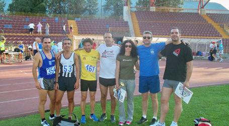 Επιτυχίες αθλητών του ΣΕΒΑΣ Μαγνησίας στο πανελλήνιο βετεράνων στίβου
