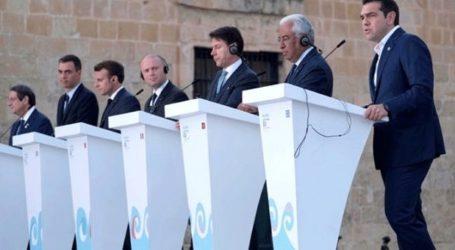 O ευρωπαϊκός νότος στηρίζει την Κύπρο