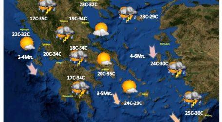 Ραγδαία επιδείνωση του καιρού στη μισή Ελλάδα