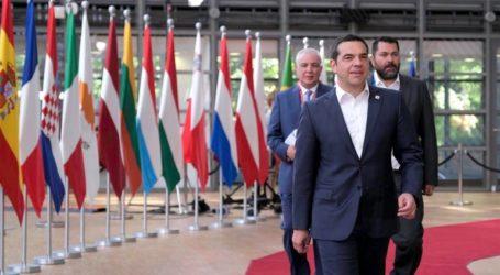 Ξεκάθαρες αποφάσεις για τις παράνομες δραστηριότητες της Τουρκίας στην κυπριακή ΑΟΖ ζητεί από το Ευρωπαϊκό Συμβούλιο ο Αλ. Τσίπρας