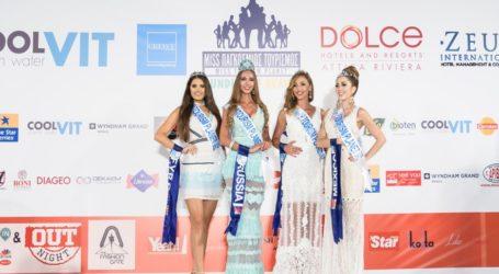 Οι καλλονές του διαγωνισμού Μις Παγκόσμιος Τουρισμός στο Fashion City Outlet